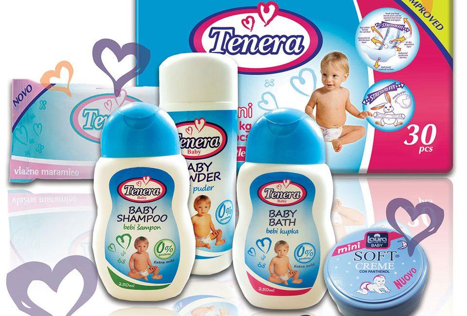 TSV Diskont - poklon paket za novorođenče